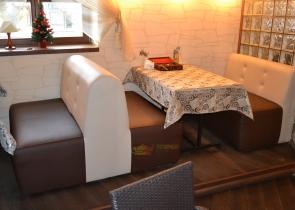 Изготовление мебели для кафе фото