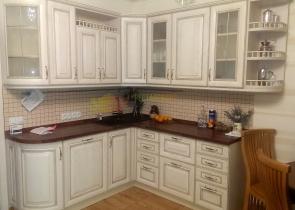 Классическая белая кухня фото