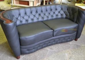 Кожаная мебель на заказ фото